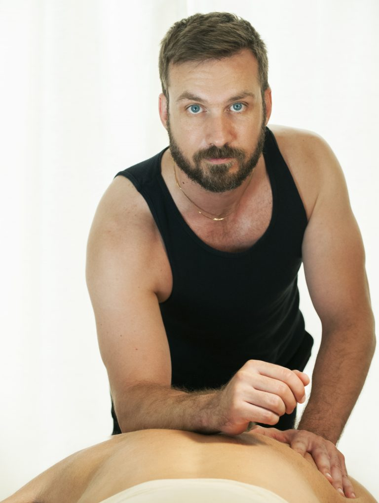 narrative portrait of massage therapist