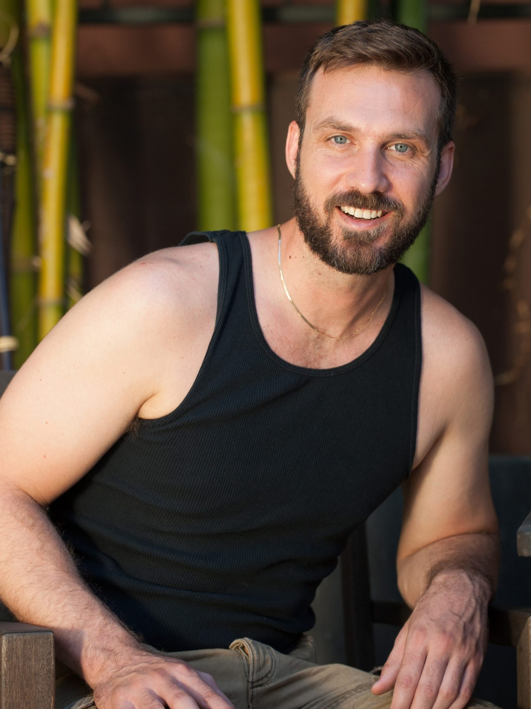 Professional Portrait of Massage Therapist by Hollywood Photo Studio