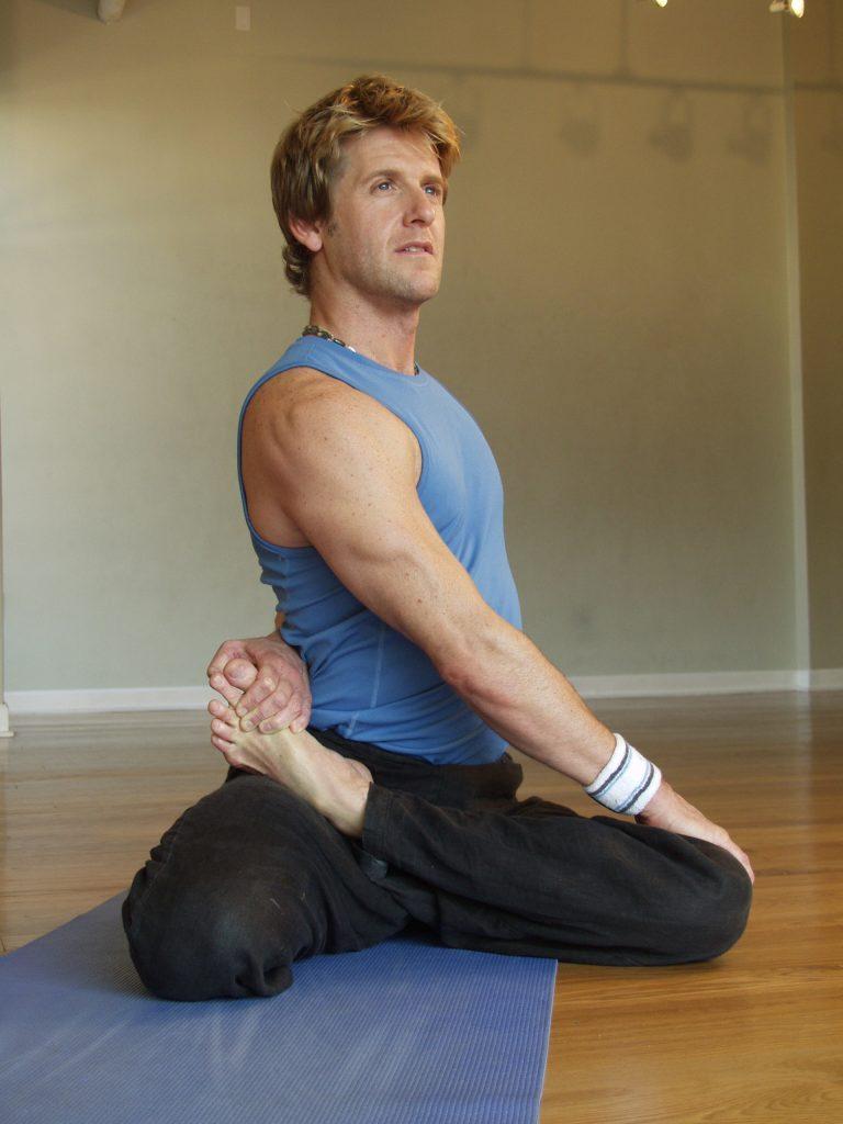 narrative portrait of yoga teacher