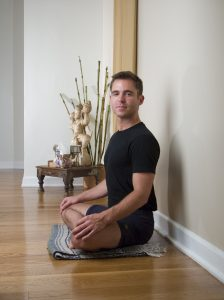 branding portrait of yoga teacher