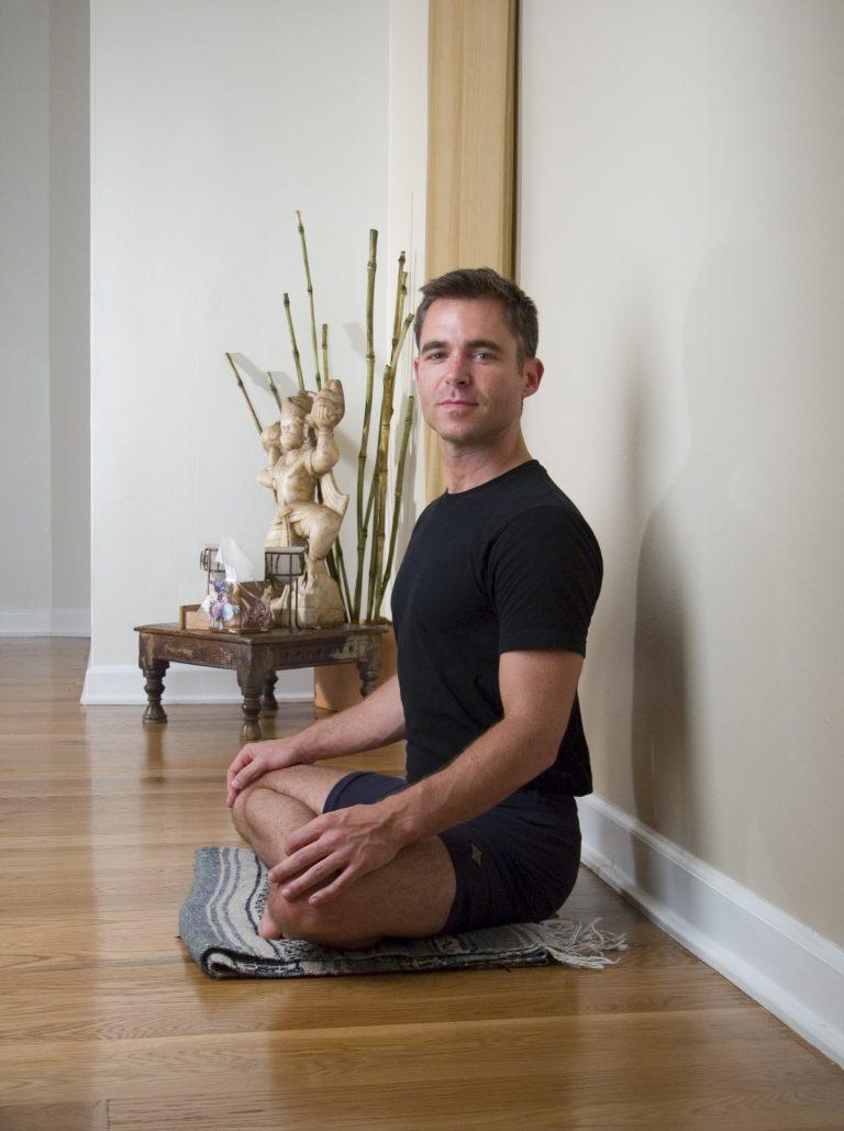 branding portrait of yoga teacher